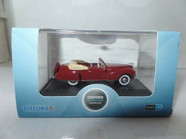 Oxford USA 87LC41001 LC41001 1/87 HO Scale Lincoln Continental 1941 Maroon